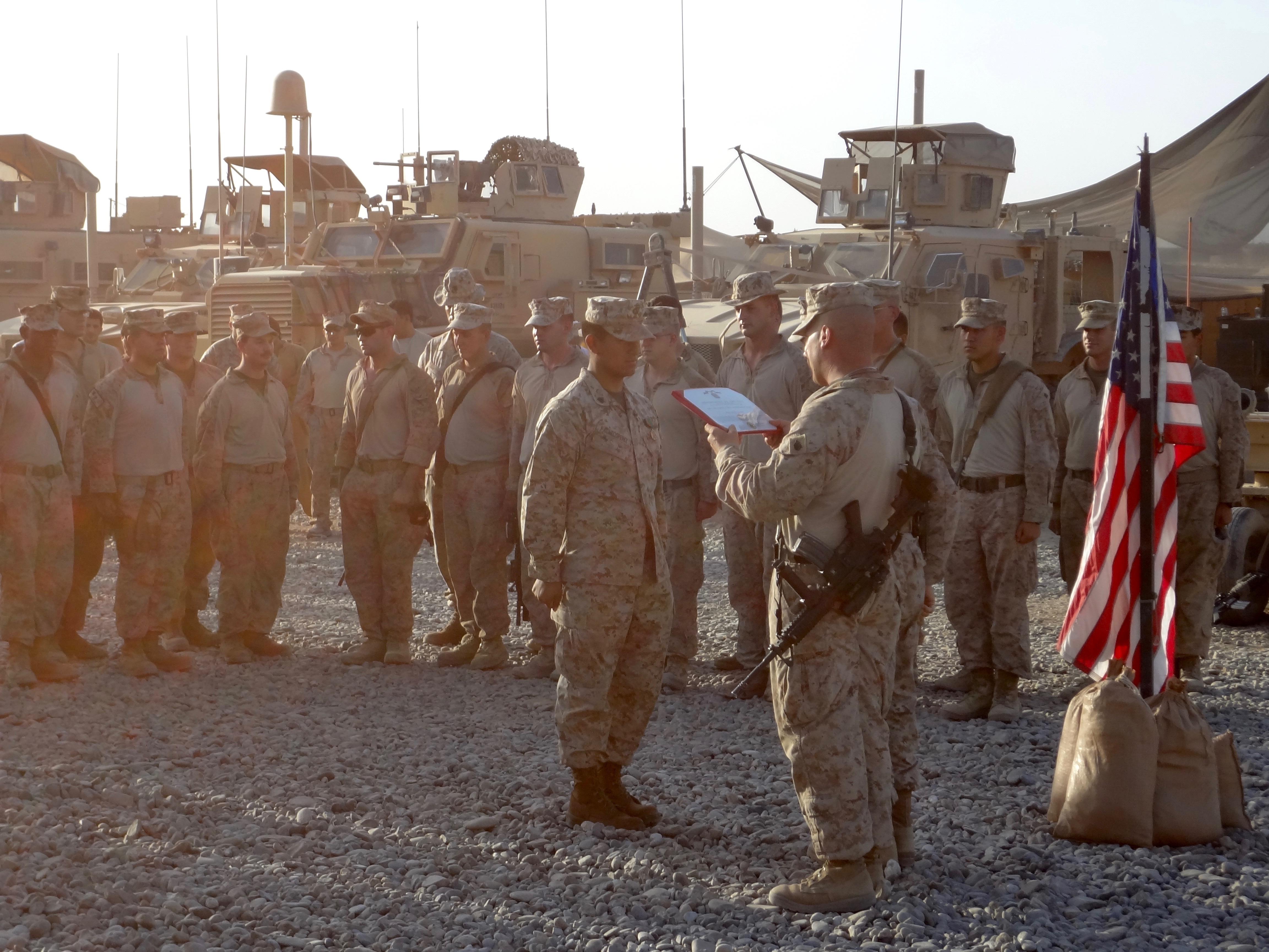 13 Months in Helmand, Afghanistan