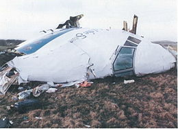 The plane was brought down by a bomb killing all the passengers and