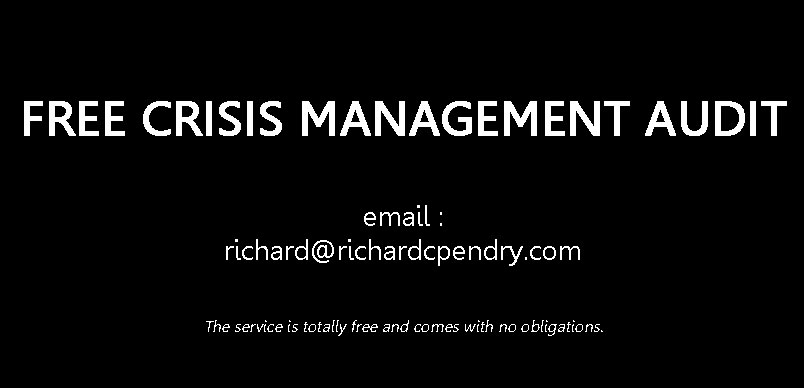 Getting Crisis Ready. How Prepared Are You? #security #terrorism #crisismanagement #riskmanagement