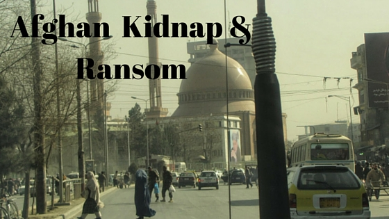 Afghan Kidnap and Ransom