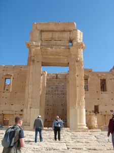 Entrance to the Temple of Bel