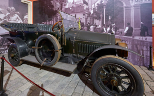 Archduke Ferdinands car on show at the Austrian Museum of Military History, Vienna.