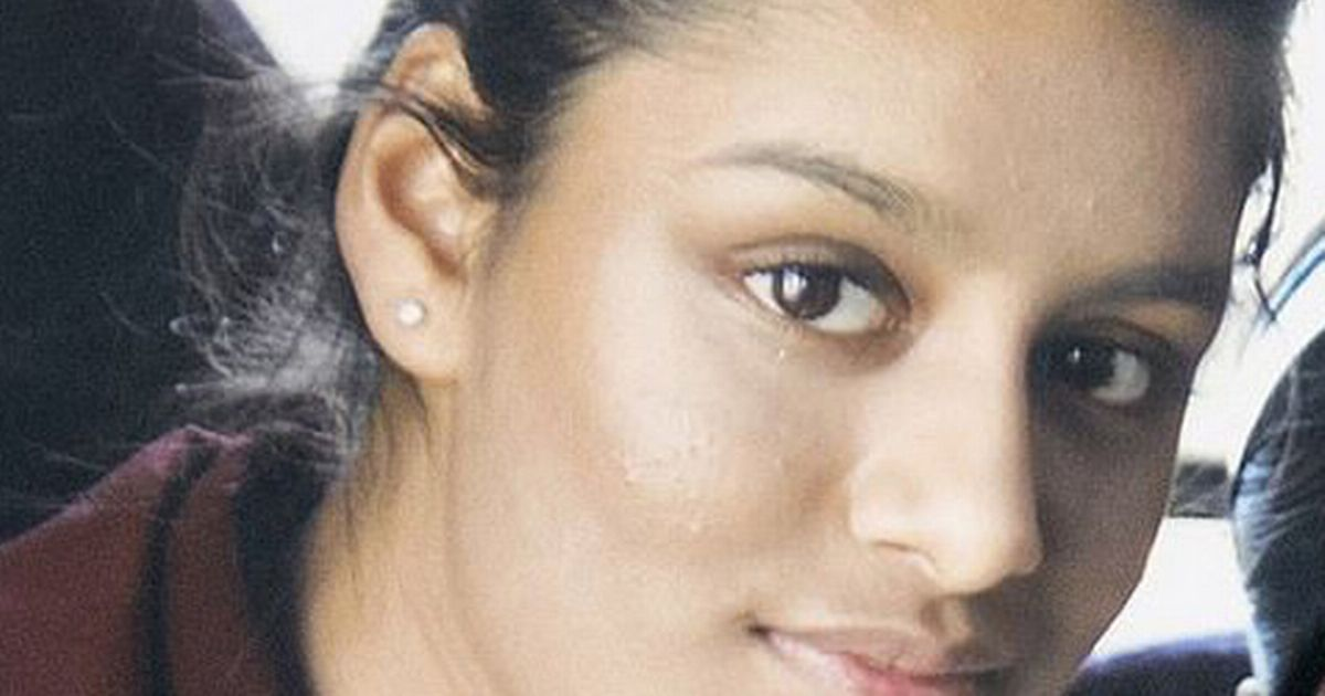 Shamima Begum is a victim?