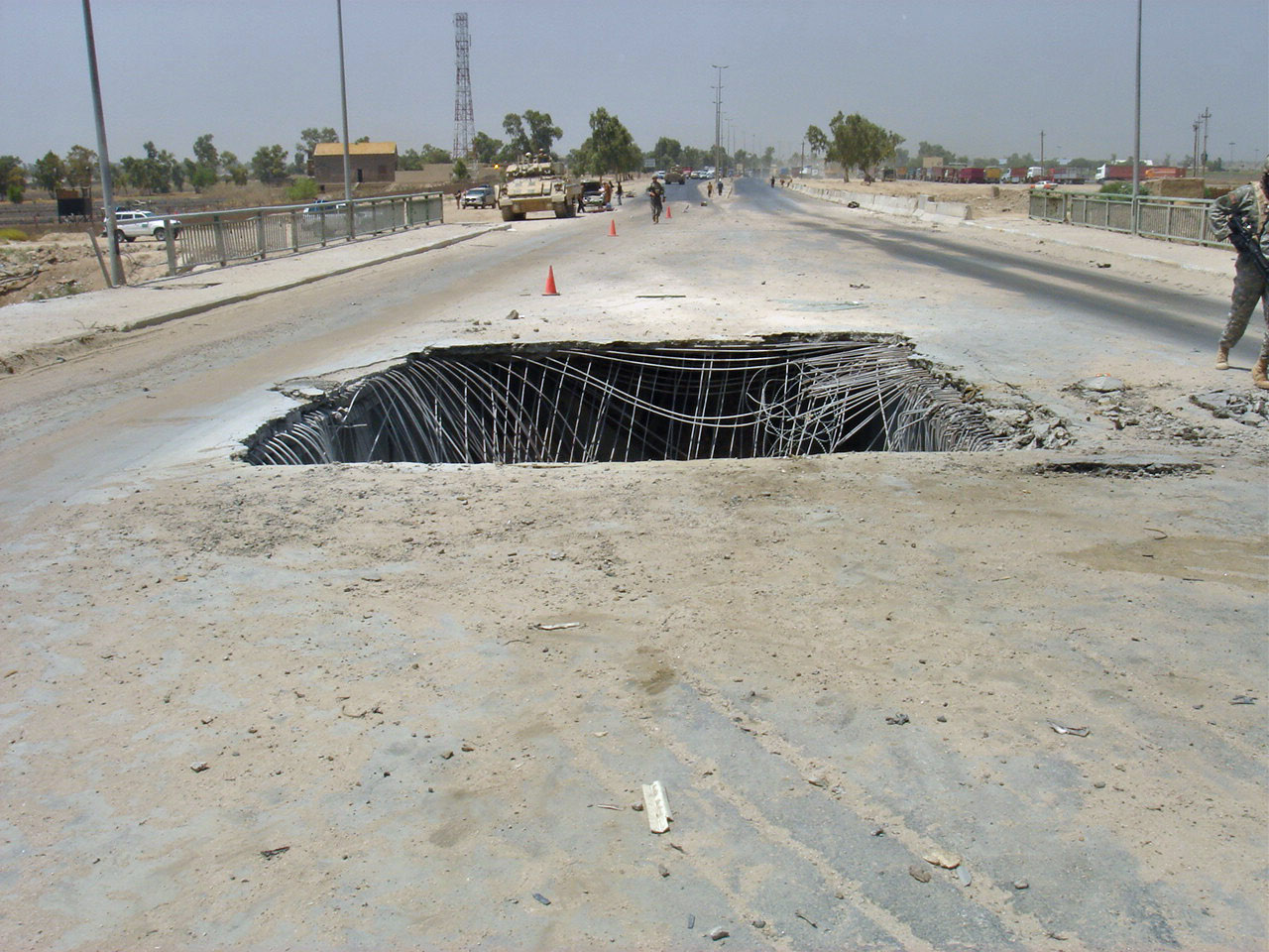 Attack At Diyala Bridge, Baghdad