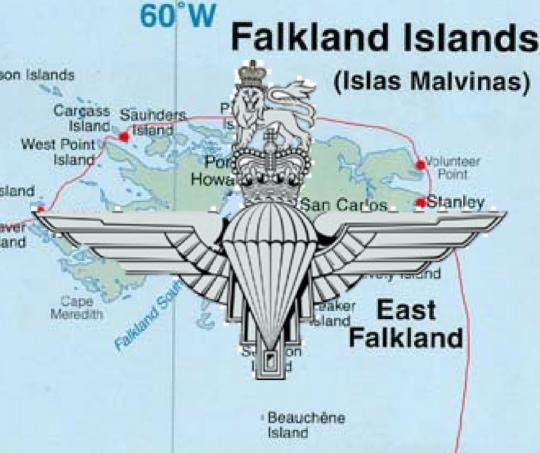 Battle of Goose Green: Falklands War