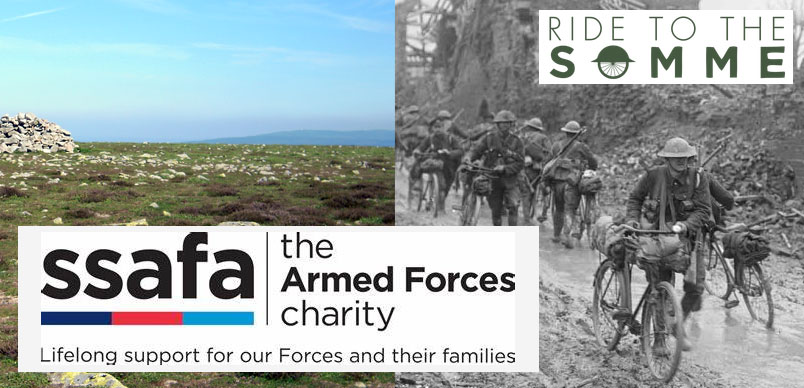 My #SSAFA #Charity Ride to the Somme – Please #Donate and #Share